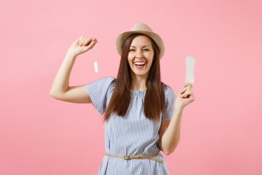 7 spôsobov, ako využiť vložky a tampóny aj mimo menštruácie