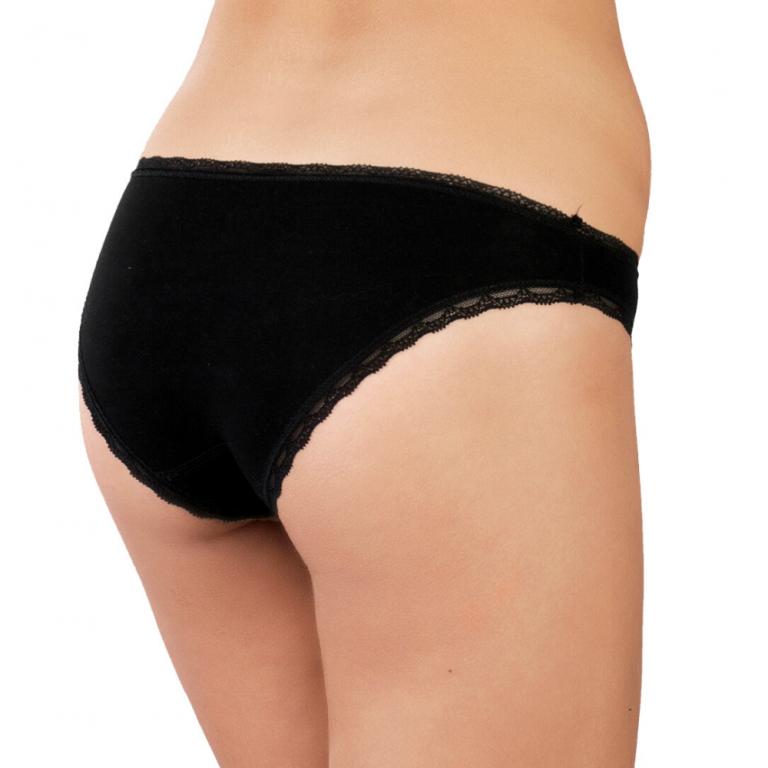 Nohavičky Bikiny - BLACK - L